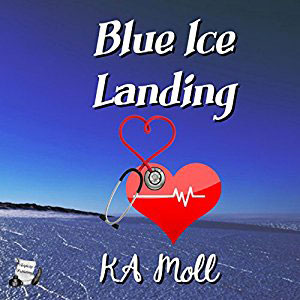 Blue Ice Landing by KA Moll