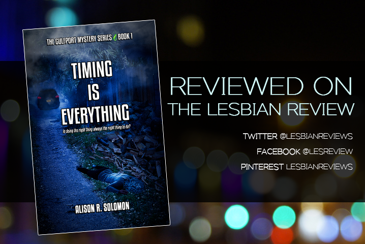 Timing Is Everything by Alison R Solomon: Book Review